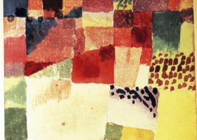 Hammamet - Paul Klee (1939)