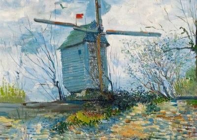 Le moulin de la galette - Vincent Van Gogh (1886)