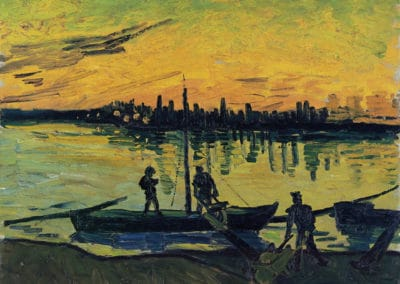 Releveurs de filets à Arles - Vincent van Gogh (1888)