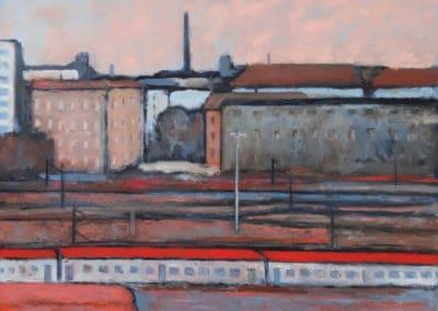 Urban landscape - Massimiliano Ligabue (1983)