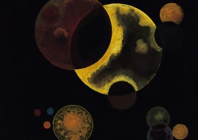 Heavy circles - Wassily Kandinsky (1927)