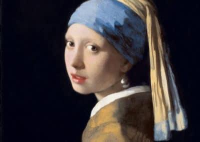 La jeune fille à la perle - Jan Vermeer (1675)