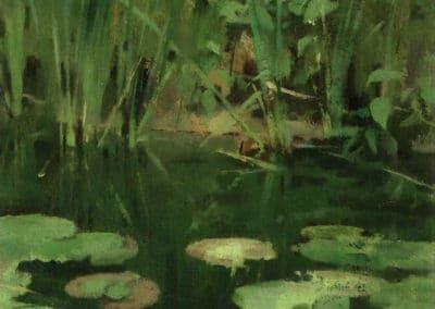 Nenuphars - Theodore Robinson (1878)