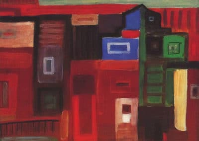 Old block of houses - Carlos Botelho (1958)