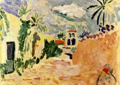 Paysage à Biskura - Henri Matisse (1906)