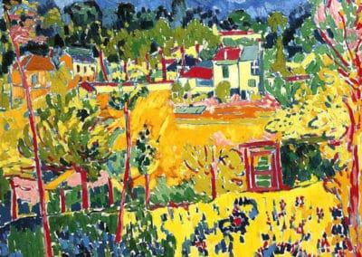 Paysage de banlieue - Maurice de Vlaminck (1905)