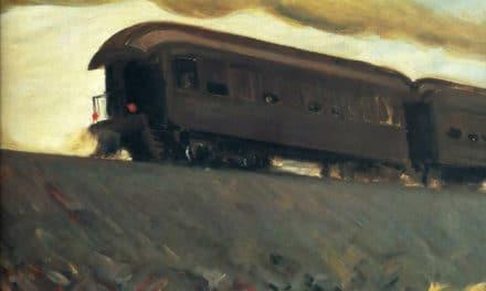 A une locomotive en hiver – Walt Whitman