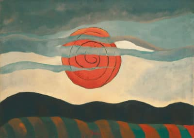 Red sun - Arthur Dove (1935)