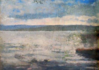 Soirée en bord de mer - Edvard Munch (1882)