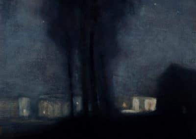 The village at night - Francis Mc Carthy (2013)