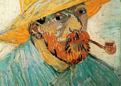 Autoportrait - Vincent van Gogh (1887)