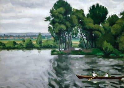 Bord de la Seine à Poissy - Albert Marquet (1908)