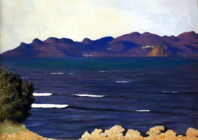 Estérel et la baie de Cannes - Felix Vallotton (1920)