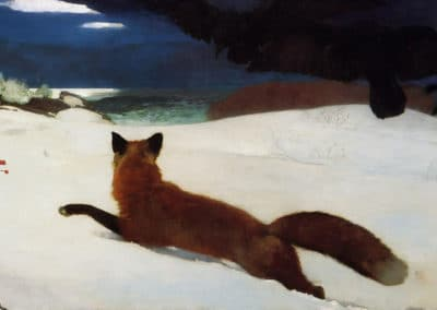 Fox hunt - Winslow Homer (1899)
