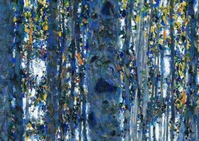 La foret en automne - Gustav Klimt (1908)