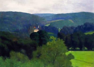 Le chateau de Barneville - Felix Vallotton (1910)