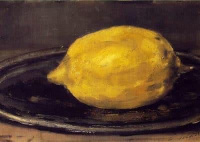 Le citron - Edouard Manet (1880)