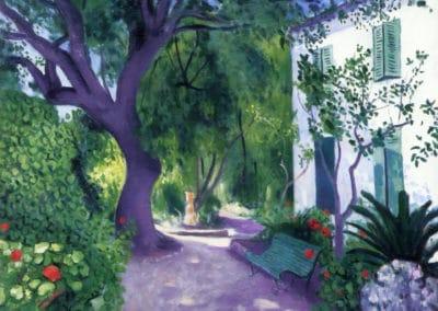 Le grand olivier - Albert Marquet (1943)
