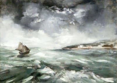Marine, temps gris - Maurice de Vlaminck (1941)