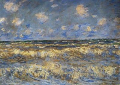 Mer agité - Claude Monet (1881)