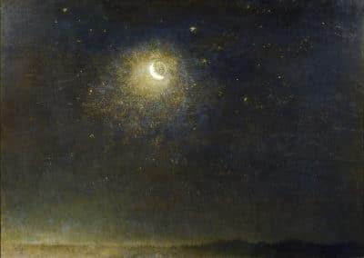 Notte - Filippo Palizzi (1878)