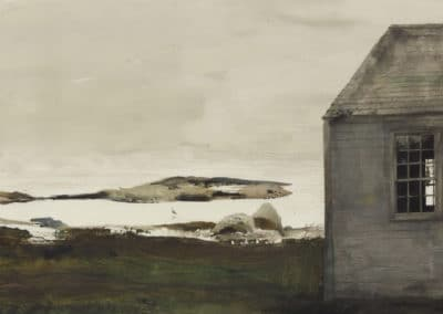 Sea level - Andrew Wyeth (1982)