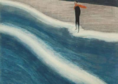 Solitaire sur la plage - Léon Spilliaert (1932)