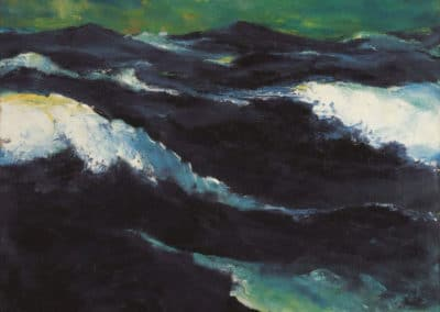 The sea III - Emil Nolde (1913)