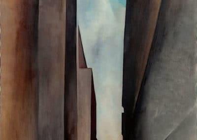 A street - Georgia O'Keeffe (1926)