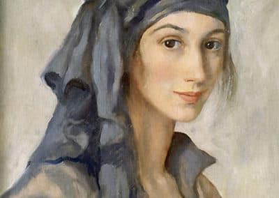 Autoportrait - Zinaida Serebriakova (1934)