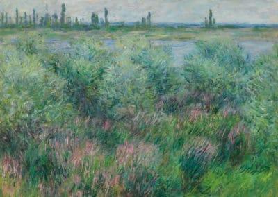 Berges de la Seine près de Vétheuil - Claude Monet (1881)
