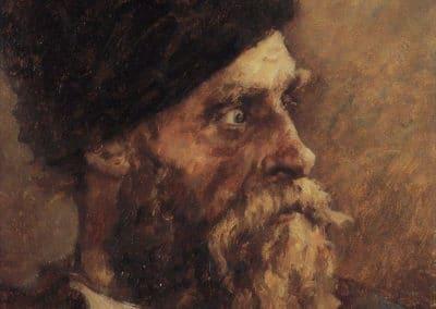 Cossak Dmitry Sokol - Vasily Surikov (1895)