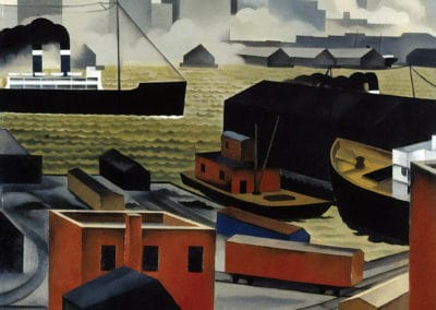 From Brooklyn heights - George Ault (1925)