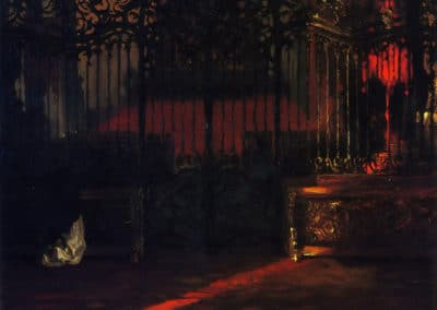 Grille - Adolph Menzel (1894)