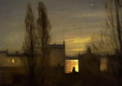 In the small hours - George Clausen (1911)