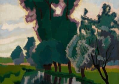 La Marne à Creteil - Auguste Herbin (1908)