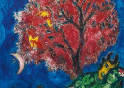 L'arbre rouge - Marc Chagall (1966)
