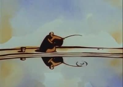 Le moine et le poisson - Michaël Dudok de Wit 1994 (10)