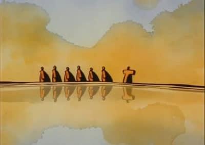Le moine et le poisson - Michaël Dudok de Wit 1994 (22)