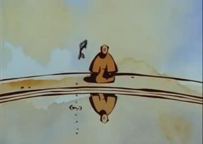 Le moine et le poisson - Michaël Dudok de Wit 1994 (5)