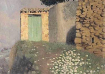 Le sentier à Cagnes - Félix Vallotton (1922)