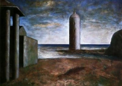 Lighthouse - Carlo Carrà (1928)