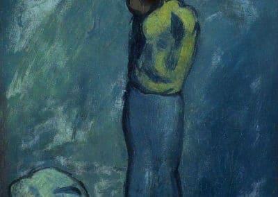 Mère et enfant - Pablo Picasso (1902)