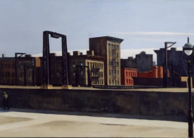 Manhattan Bridge Loop - Edward Hopper (1939)