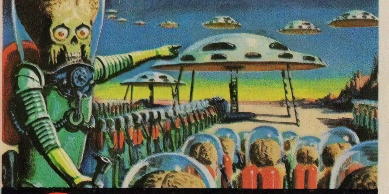 Mars Attacks ! – Norman Saunders