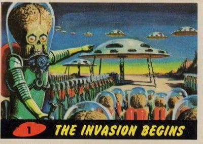 Mars Attacks ! - Norman Saunders 1962 (1)