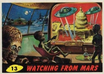 Mars Attacks ! - Norman Saunders 1962 (13)