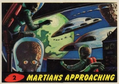 Mars Attacks ! - Norman Saunders 1962 (2)