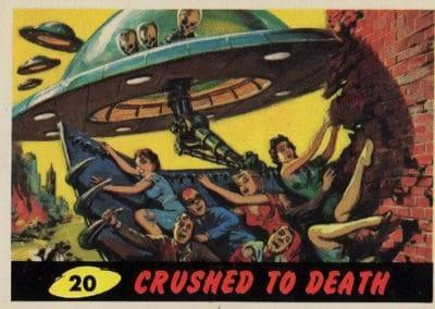 Mars Attacks ! - Norman Saunders 1962 (20)