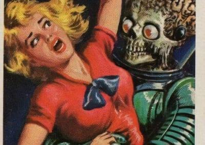 Mars Attacks ! - Norman Saunders 1962 (21)